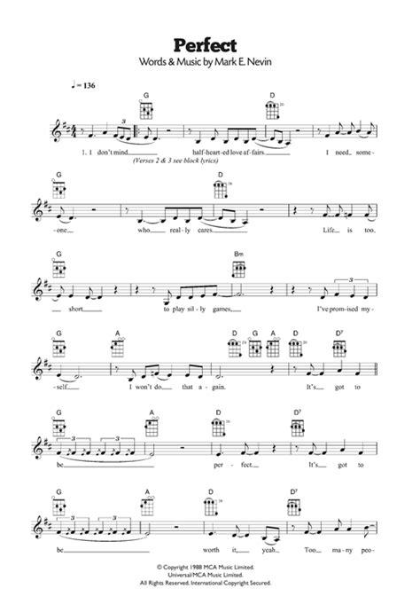 ed sheeran perfect ukulele tutorial perfect sheet music by fairground attraction ukulele