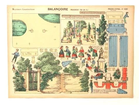 Balancoir Bébé by Imagerie D Epinal No 1021 Balan 231 Oire Moyennes