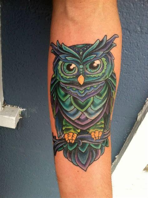 New Color Owl os significados das tatuagens de corujas niteroiinktattoo