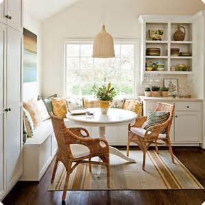 Corner Banquette by Design Tips Coastal Banquettes