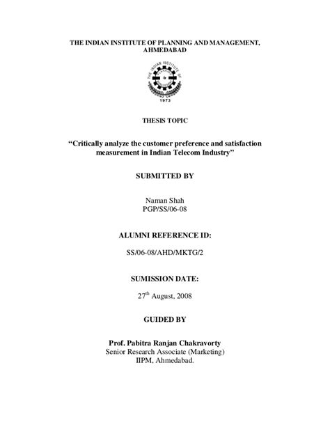 thesis on education pdf telecom sector thesis