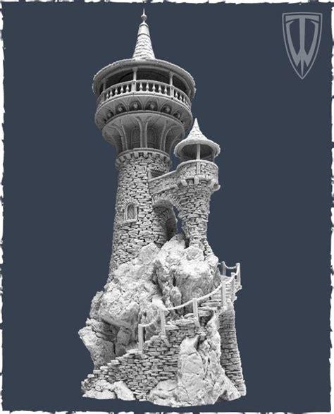 wizard tower casitas medievales pa maincra tower