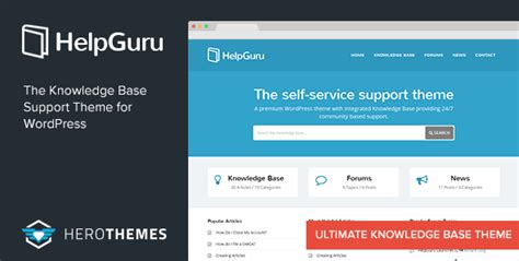 Minervakb V1 4 4 Knowledge Base For With Analytics helpguru self service knowledge base theme