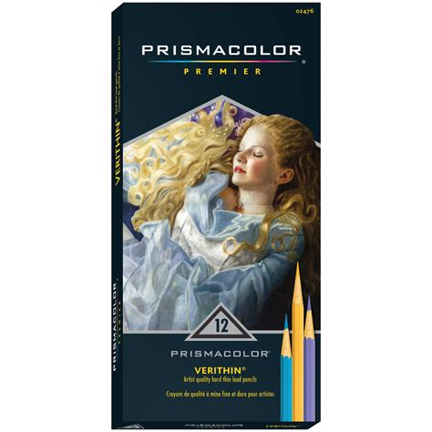prismacolor premier verithin colored pencils prismacolor premier colored pencils verithin 12 pkg