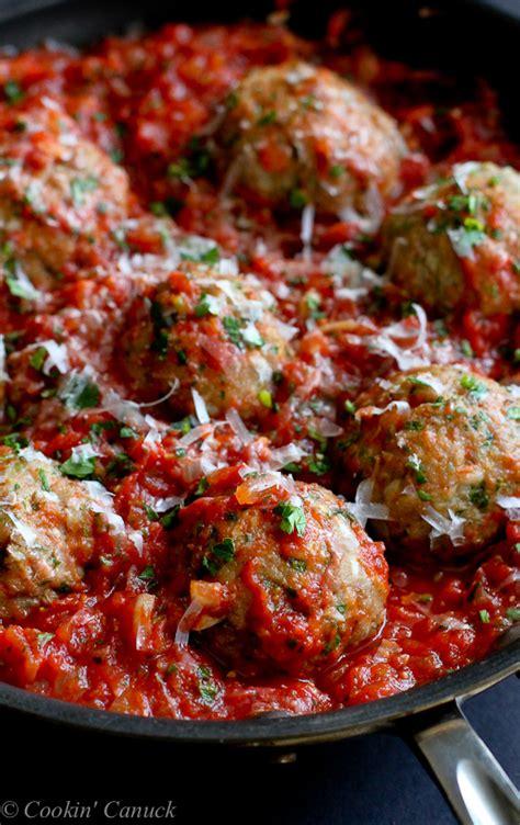recipe for healthy turkey meatballs meatballs and tomato sauce recipe dishmaps