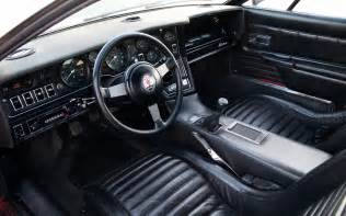 Maserati Bora Interior Collectible Classic 1971 1978 Maserati Bora Automobile