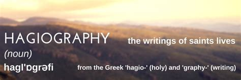 hagiographic biography definition quot dewi wareth quot rediscovering st david arts and