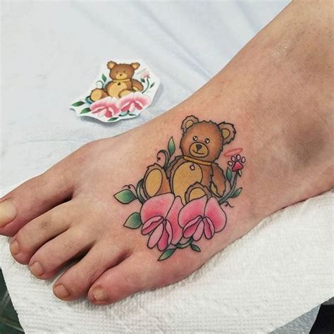 cute teddy bear tattoo designs teddy tattoos design ideas with meaning