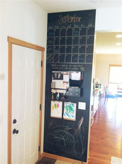 chalkboard kitchen wall ideas best 25 chalkboard command center ideas on