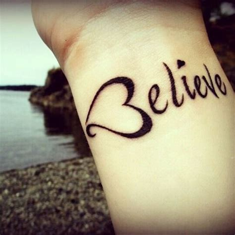 tattoo on lower wrist believe tattoo tattoos for girls on wrist tattoos