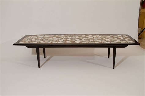 mosaic tile top coffee table for sale at 1stdibs
