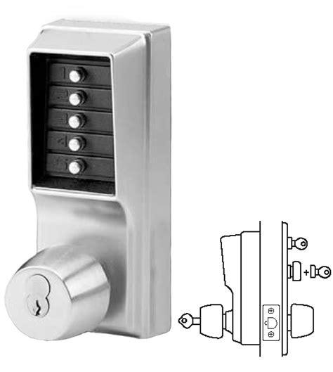 Keypad Front Door Locks Simplex Keypad Entry Lock With Passage Feature And Key Override Kaba 1041 Doorware