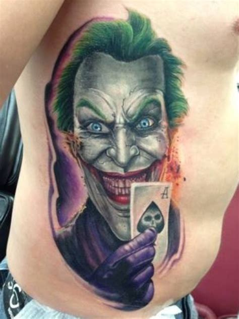 joker tattoo controversy dads joker tattoo 10 hour sitting done by diego mickey