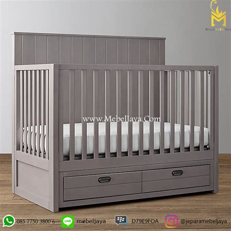 Box Bayi Minimalis Ranjang Bayi Murah Baby Crib Jepara Tempat Tidur box bayi laci minimalis murah jepara jepara mebel jaya jepara mebel jaya