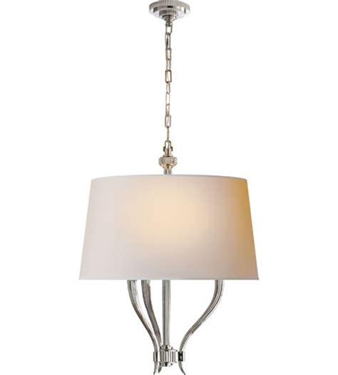 visual comfort e f chapman ruhlmann pendant in polished