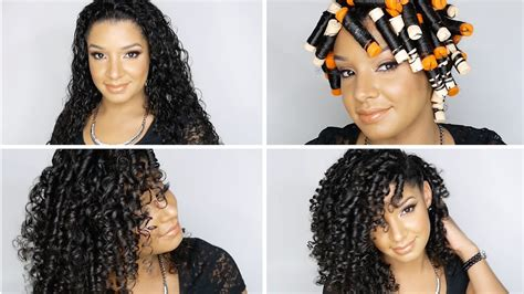 how to roll hair for curl perm how to perfect perm rod set on natural curly hair