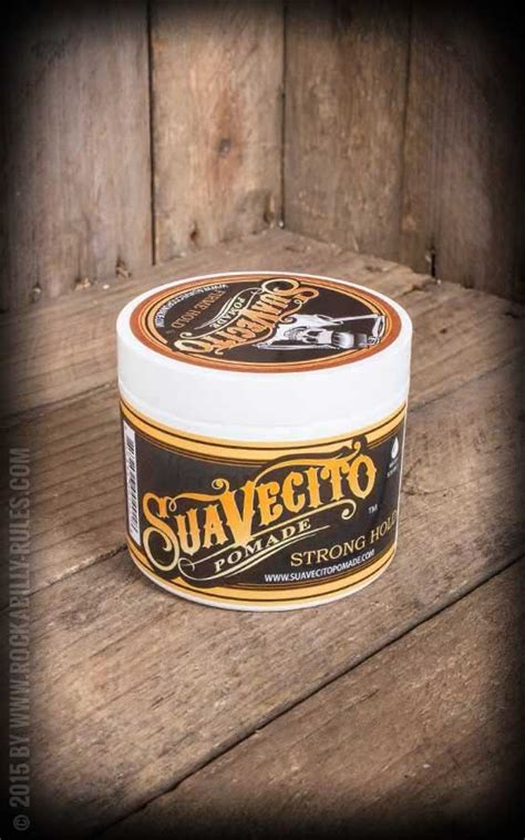 Pomade Suavecito suavecito pomade strong hold top choice