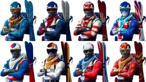 fortnite new skins coming out fortnite alpine ace ski skins how to get the new