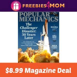 Popular Mechanics Sweepstakes - magazine deal popular mechanics 8 99