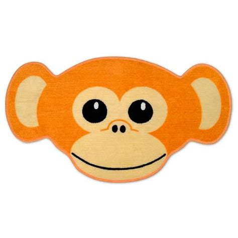 monkey bath rug monkey throw rug accoutrements animals bed and bath at entertainment earth