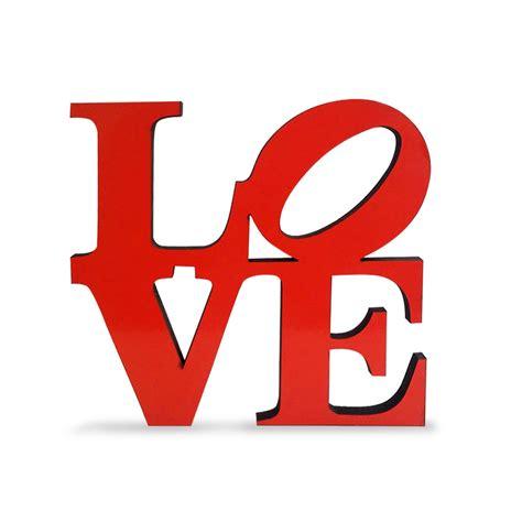 imagenes de la palabra i love you gorsh net palabra love de madera roja
