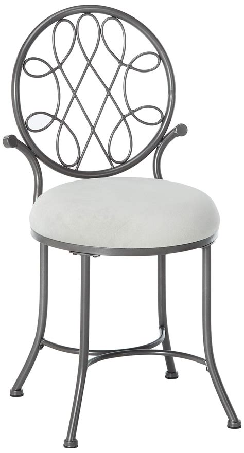 Hillsdale O Malley Vanity Stool by Vanity Chairs