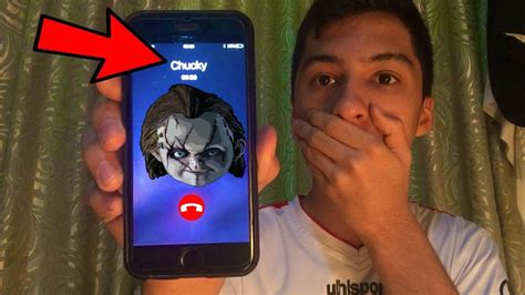 chucky movie number 1 calling chucky doll omg he actually answered youtube