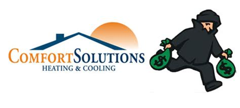 comfort solutions ripoff report comfort solutions heating cooling