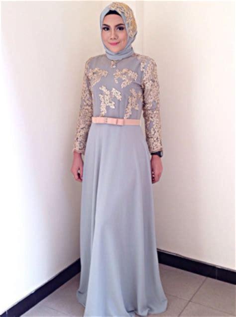 Busana Brukat 6 model gaun pesta brokat mewah menjadi trend di tahun 2018