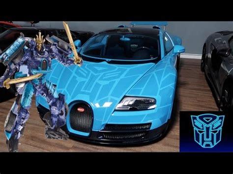 bugatti transformer transformers bugatti veyron autobot edition 2 1 million