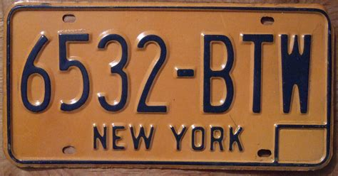 Ny Vanity Plates by Til Michigan Has A Second Tier Dui Known As The