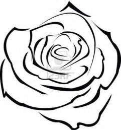rose flower outline drawing archives pencil drawing