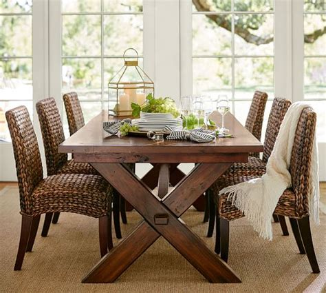seagrass dining room chairs seagrass side chair pottery barn