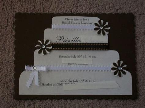 Handmade Bridal Shower Invitations - diy bridal shower invitations 2 ways weddingbee photo