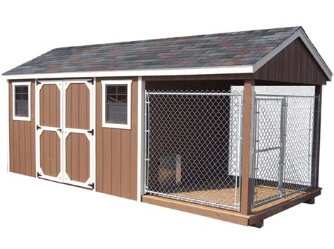 Pet Shed by Pet Structures With Quality Value Kennels