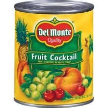 Wilmond Fruit Cocktail In Syrup Canned Monte Fruit Cocktail In Heavy Syrup 30 Oz Can Products United States Monte Fruit