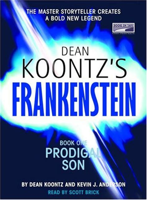 frankenstein prodigal books prodigal dean koontz s frankenstein 1 by dean