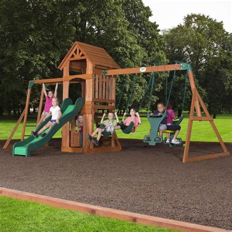 backyard discovery sonora sonora wooden swing set playsets backyard discovery