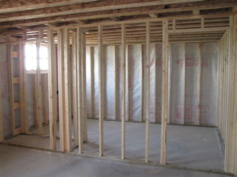 framing basement walls ideas new basement ideas
