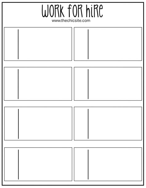 Chore Cards Template by Work For Hire Chores Free Printable Board And Free