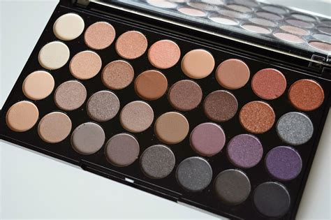 Eyeshadow Revolution makeup revolution new release the affirmation 32 shade eye shadow palette petit moi big
