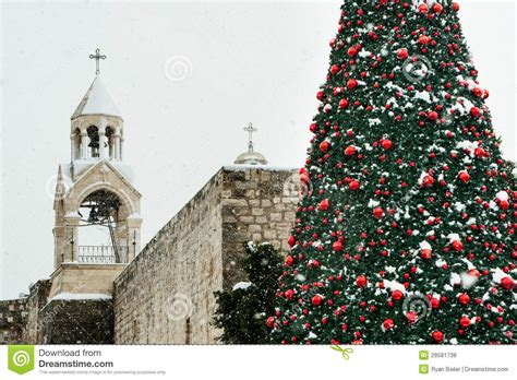 christmas snow in bethlehem stock photo image 28581738