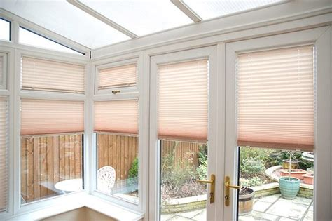 Thermal Pleated Blinds fit blinds just for your conservatory
