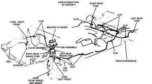 Brake Line Diagram For 2003 Chevy Avalanche 1985 Lincoln Booster Brake Line T Locate A Schematic