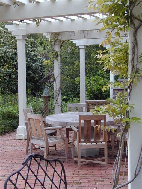 natural patio pergola  gorgeous design beautifies