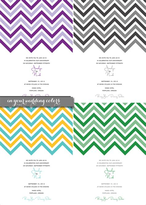 chevron printable invitation template template printable images gallery category page 24