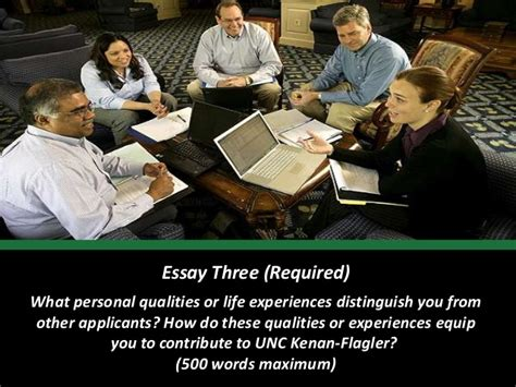 Unc Mba Admission Deadline by Unc Kenan Flagler Releases Mba Application Essay Topics