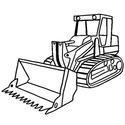 construction truck coloring pages bulldozer coloringstar