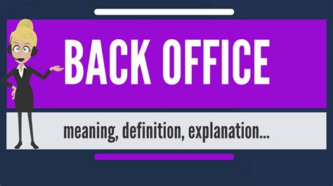office definition what is back office what does back office mean back