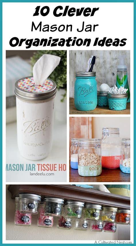 10 clever jar organization ideas veryhom